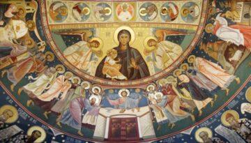 Bolta altarului/ Altarkuppel